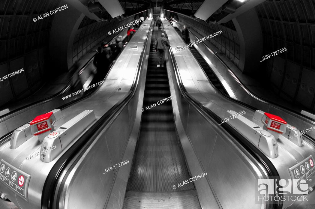 Stock Photo: UK, England, London, Waterloo Station.