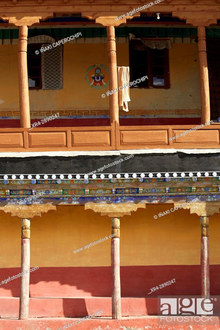 Stock Photo: Thikse Gompa, Ladakh, India.