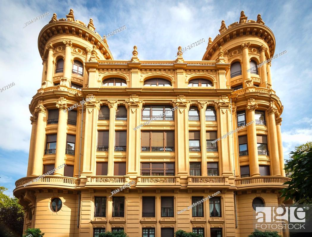 Stock Photo: Lezama Leguizamon House. Bilbao. Biscay, Spain, Europe.