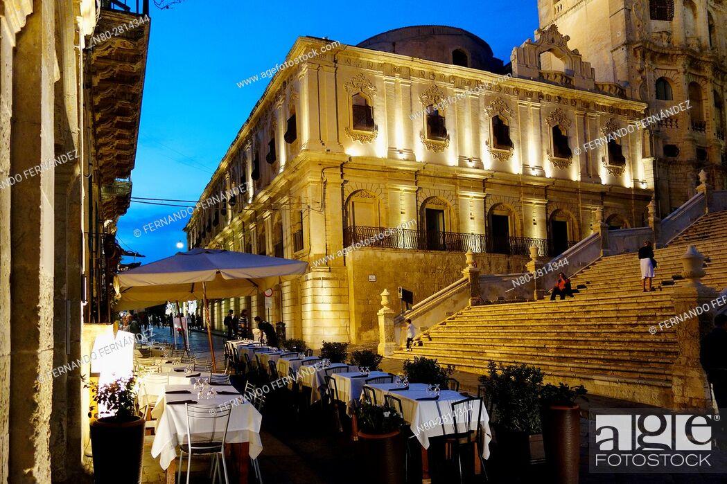 Stock Photo: Noto. Syracuse. Sicily. Italy.