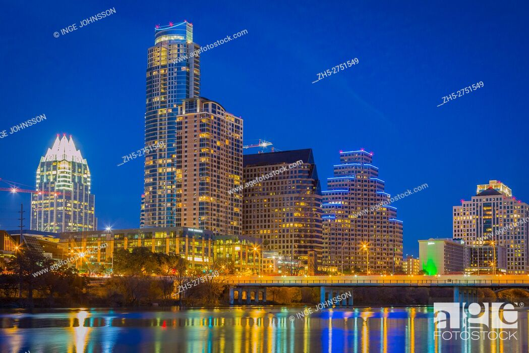 Stock Photo: Austin is the capital of Texas and the seat of Travis County. Located in Central Texas and the American Southwest, it is the 11th-largest city in the United.