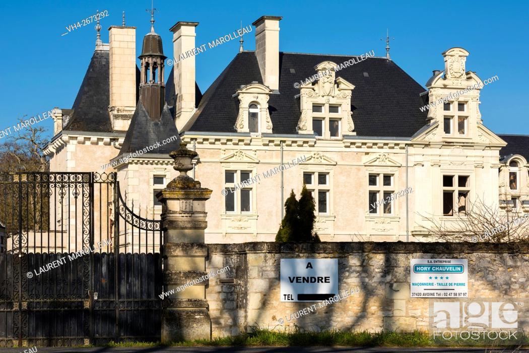 Castle For Sale  Chinon District, Indre et Loire department
