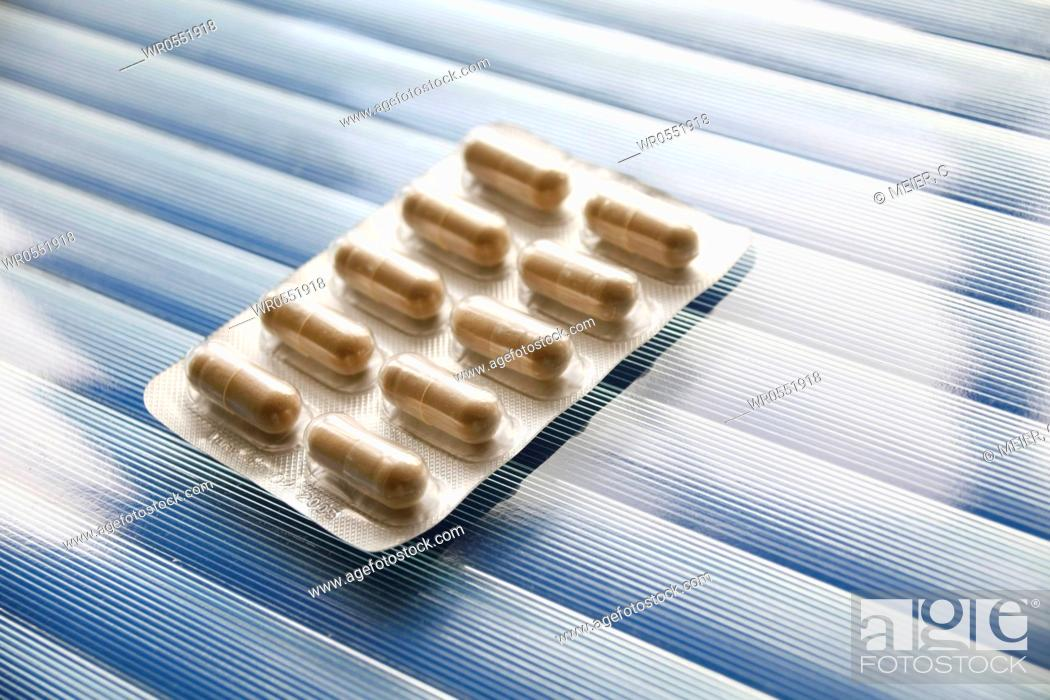 Imagen: Blister pack of capsules : Luvos healing earth.