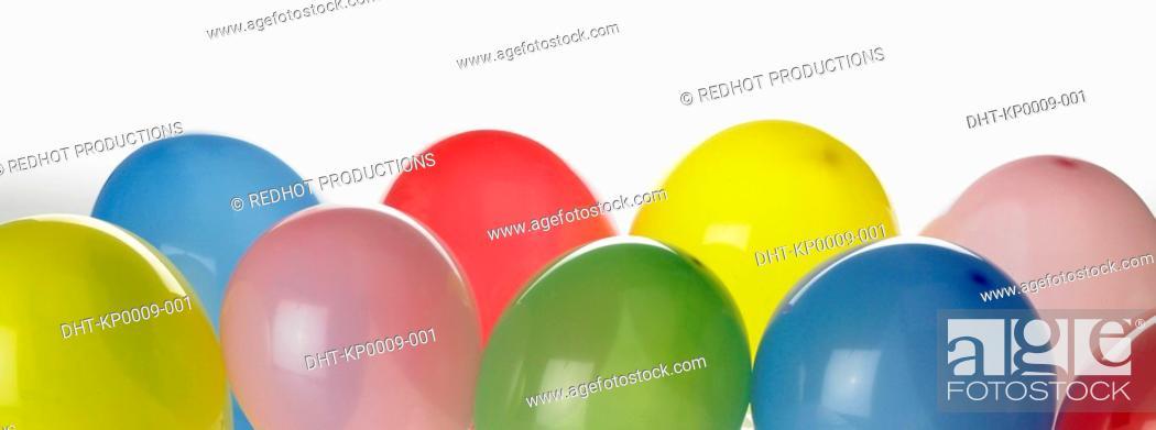 Stock Photo: Colourful Balloons.