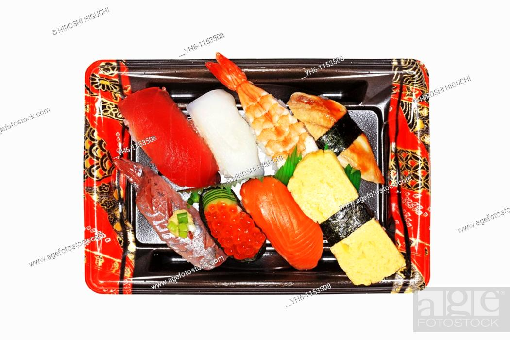 Stock Photo: Sushi, Japan, Fukushima.