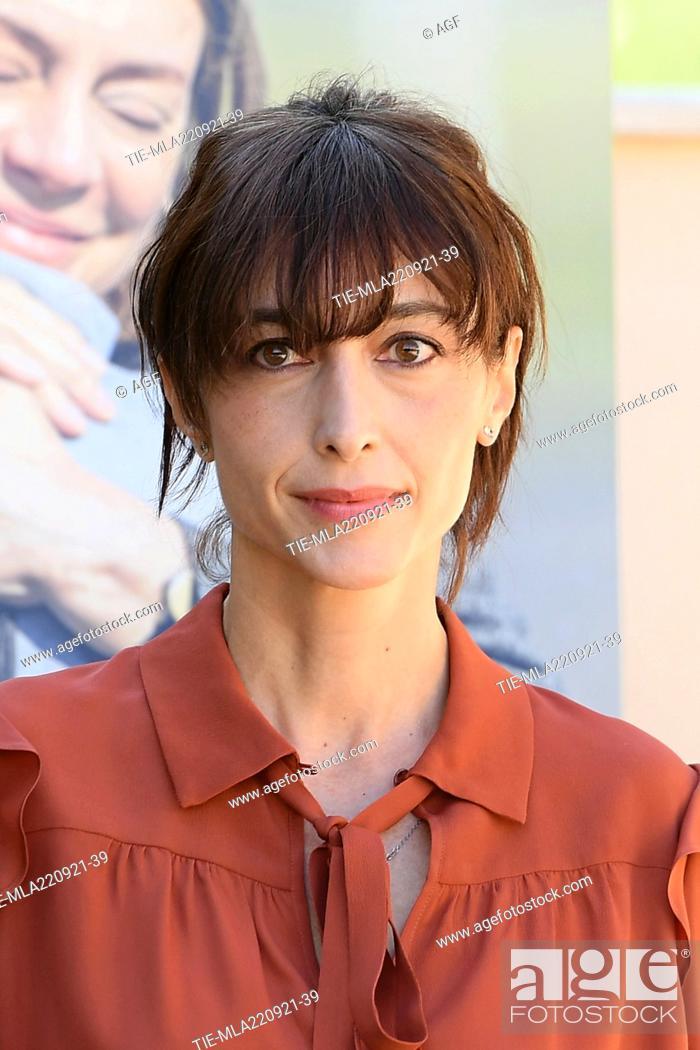 Stock Photo: Elena Lietti during 'Three Floors' film photocall, Rome 22 Sept 2021.