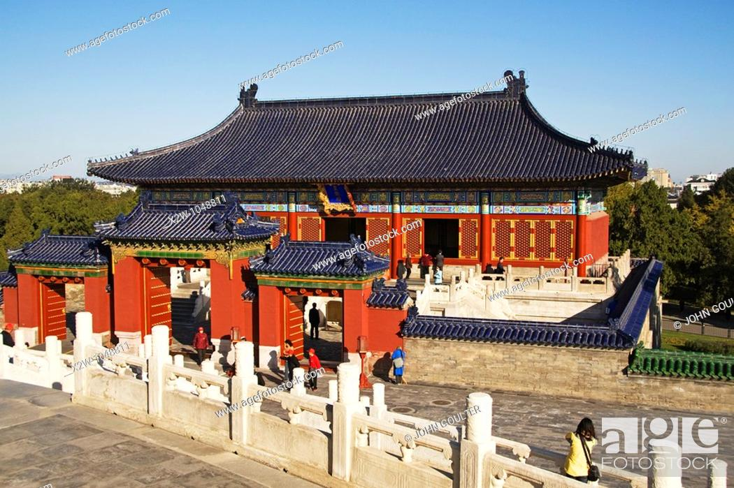 Stock Photo: Temple of Heaven, Beijing, China.