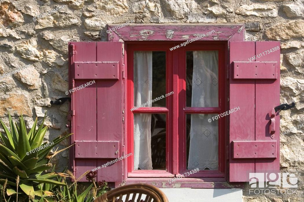 Stock Photo: Brick, Curtain, Building, Brickwall, Appearance.