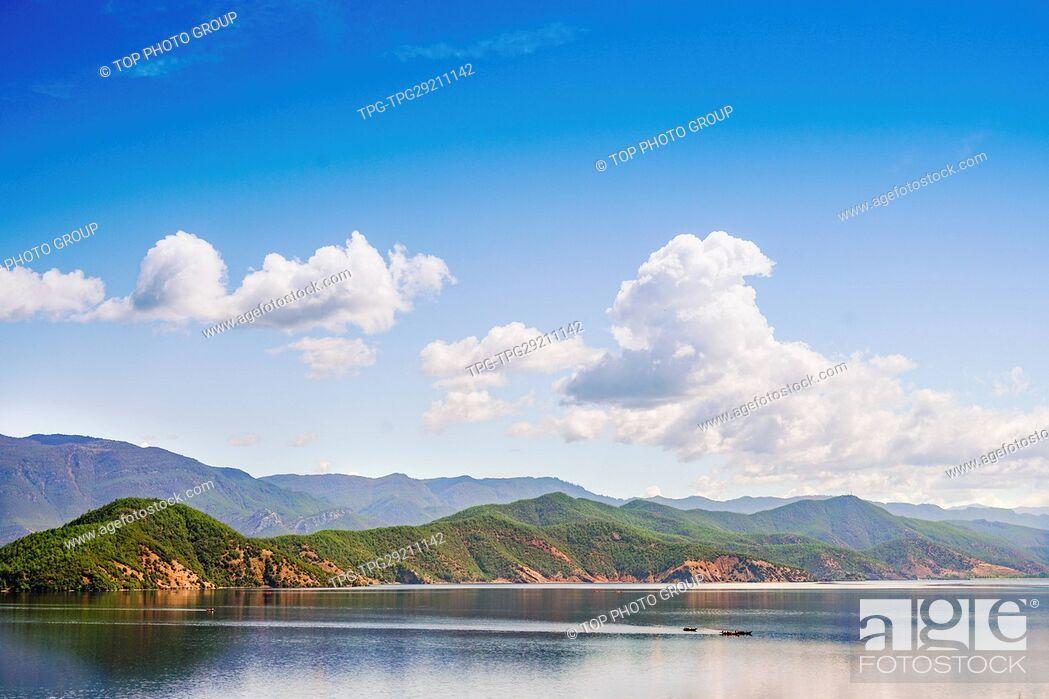 Imagen: Lugu Lake;China.