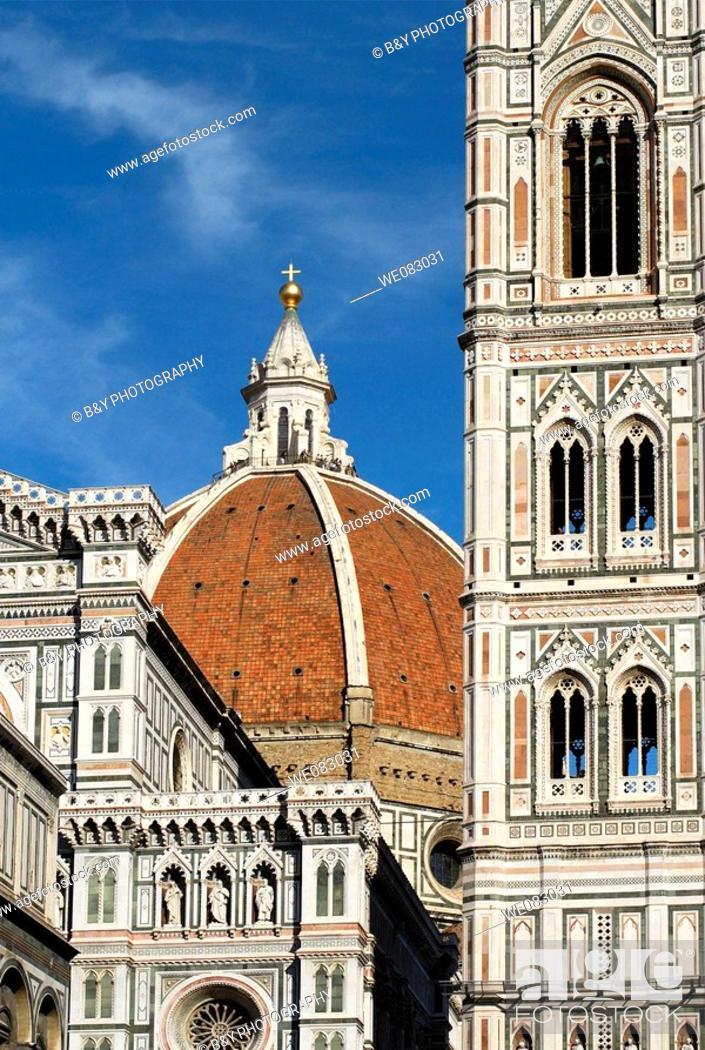 Stock Photo: Duomo, Florence, Italy.