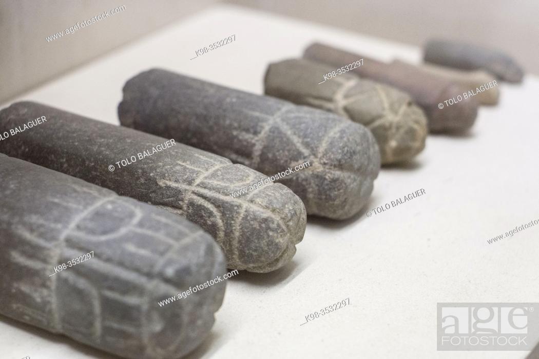 Stock Photo: amuleto falico, museo monografico de Conimbriga, ciudad del Conventus Scallabitanus, provincia romana de Lusitania, cerca de Condeixa-a-Nova.