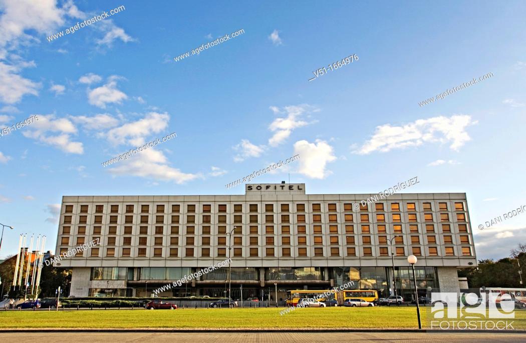 Stock Photo: Victoria Hotel, Sofitel, Warsaw, Poland.