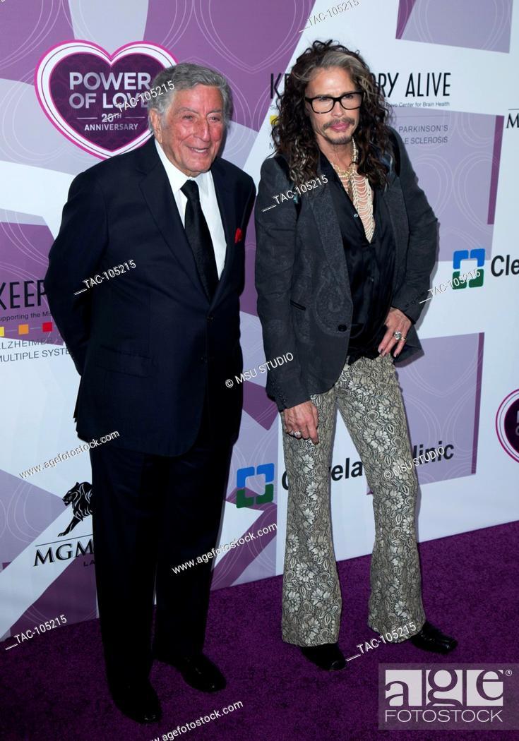 Tony Bennett and Steven Tyler attend Memory Alive's 20th Annual