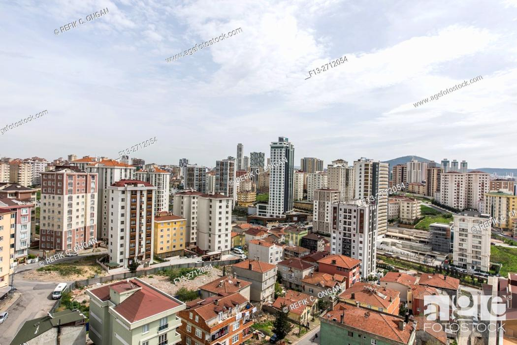 Stock Photo: Buildings in Istanbul Asia part.