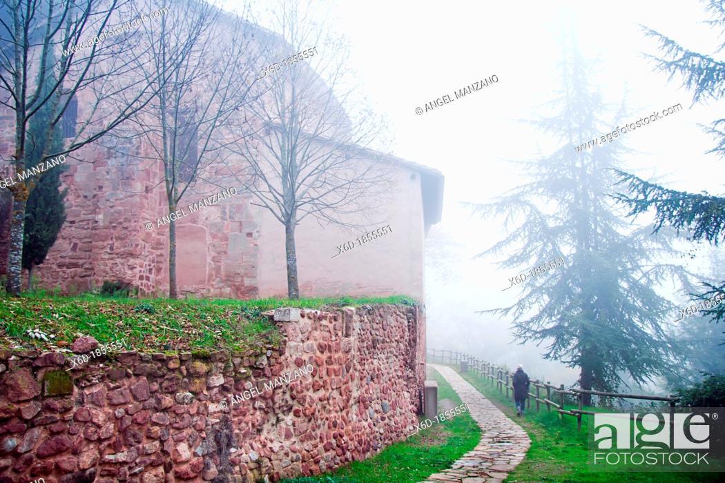 Stock Photo: Suso monastery, San Millan de la Cogolla, La Rioja.