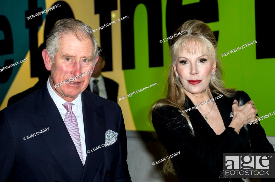 The Prince of Wales and Princess Donatella Flick attend a