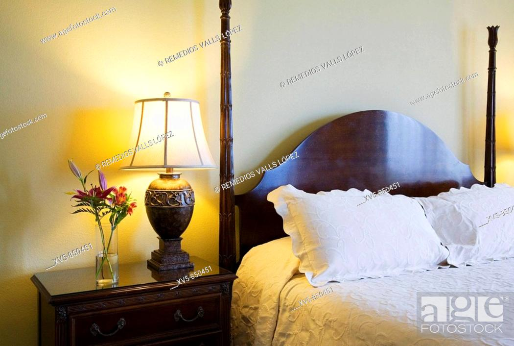 Stock Photo: Bahamas, New Providence Island, Nassau Royal Sandals Bahamian Hotel Suite.