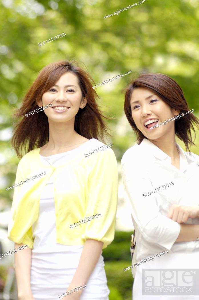Stock Photo: Verdure and women.