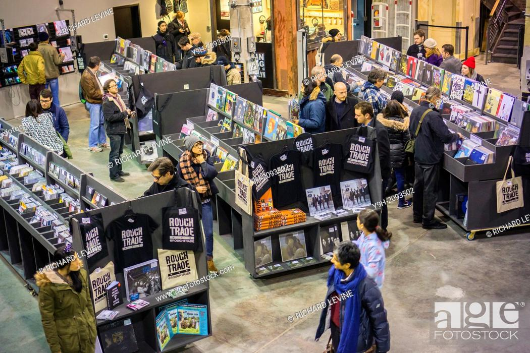 The newly opened Rough Trade NYC record store in the