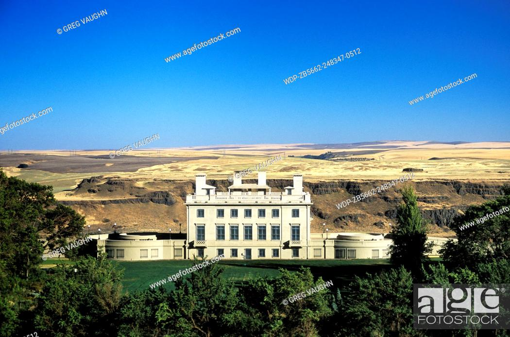 Maryhill Museum, overlooking the Columbia River Gorge at