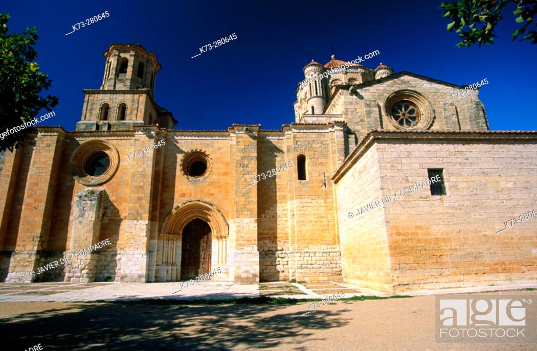 Stock Photo: Collegiate church of Santa Maria la Mayor (12th-13th Centuries). Toro. Zamora province. Castilla y Leon. Spain.