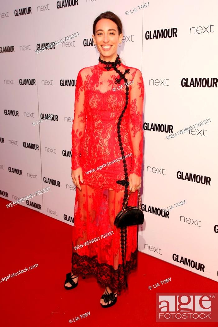 1b08d877ec02 Stock Photo - The Glamour Women of the Year Awards 2017 - Arrivals  Featuring: Laura Jackson Where: London, United Kingdom When: 06 Jun 2017  Credit: Lia ...