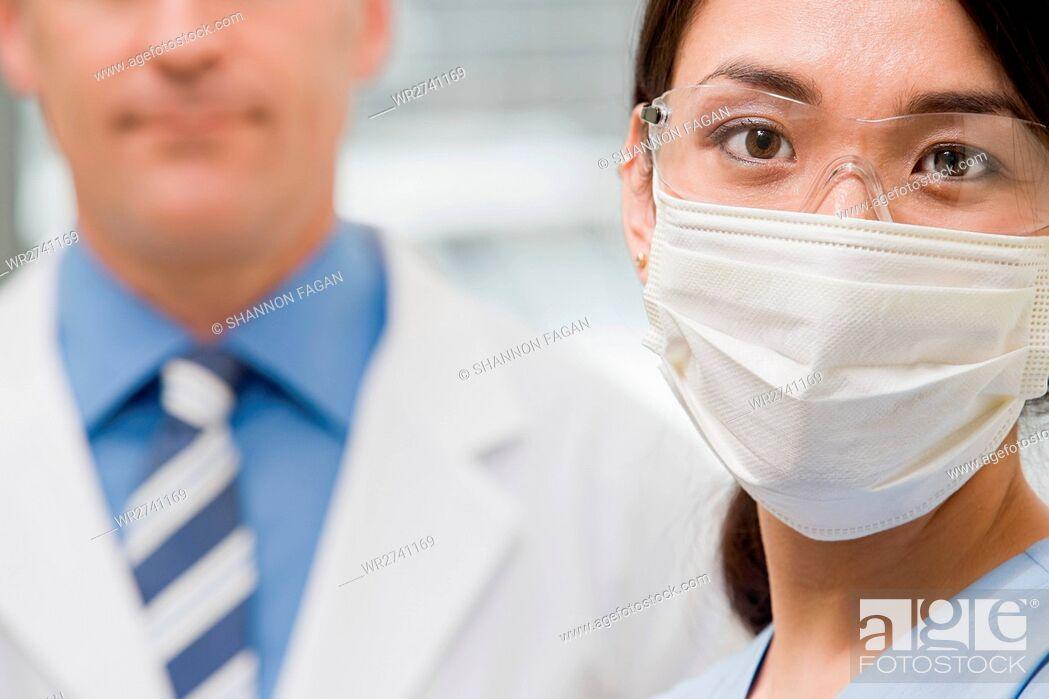Stock Photo: Dentists.
