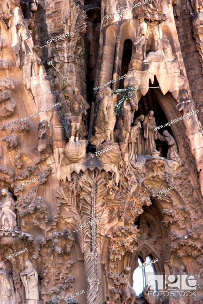 Stock Photo: La Sagrada Familia.