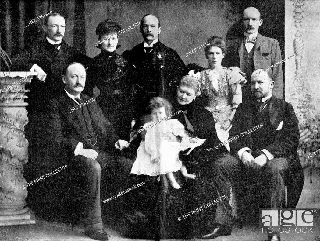 Colonel Robert Baden Powell And His Mother Sister And Four