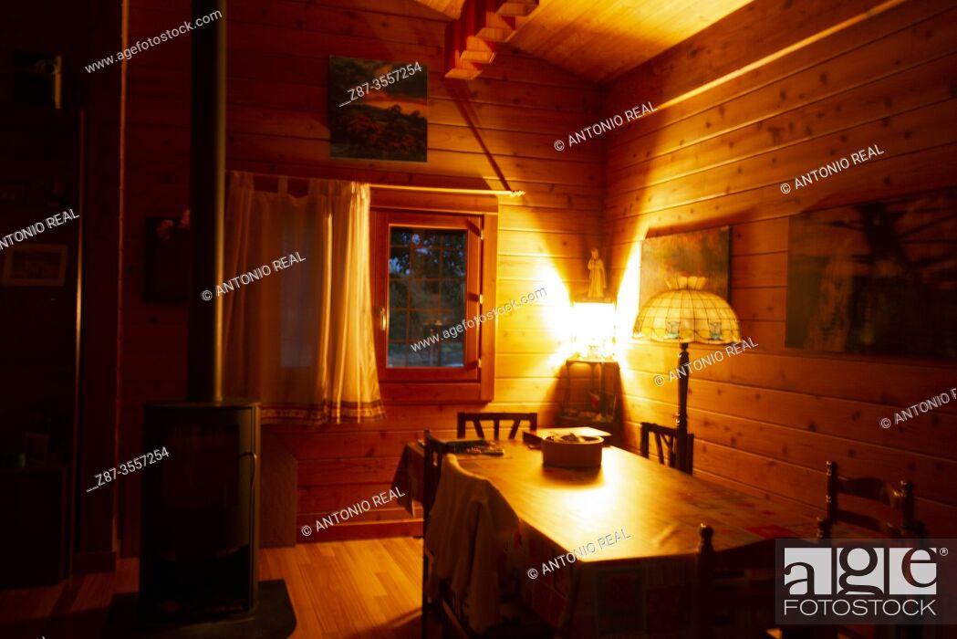 Stock Photo: house interior.