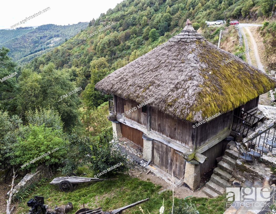 Stock Photo: Arquitectura popular. Lugo. Galicia. España.