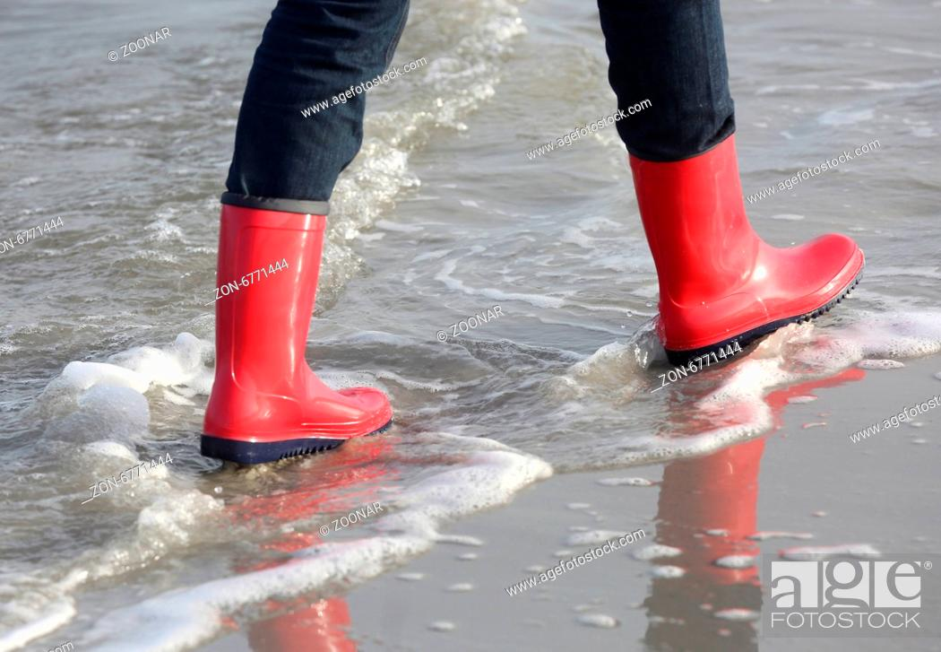 Stock Photo: Rubber Boots.