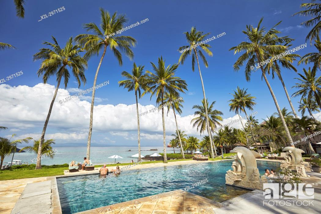 Swimming Pool Of Candi Beach Resort And Spa With A View
