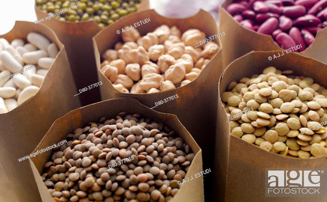 Stock Photo: Pulses.
