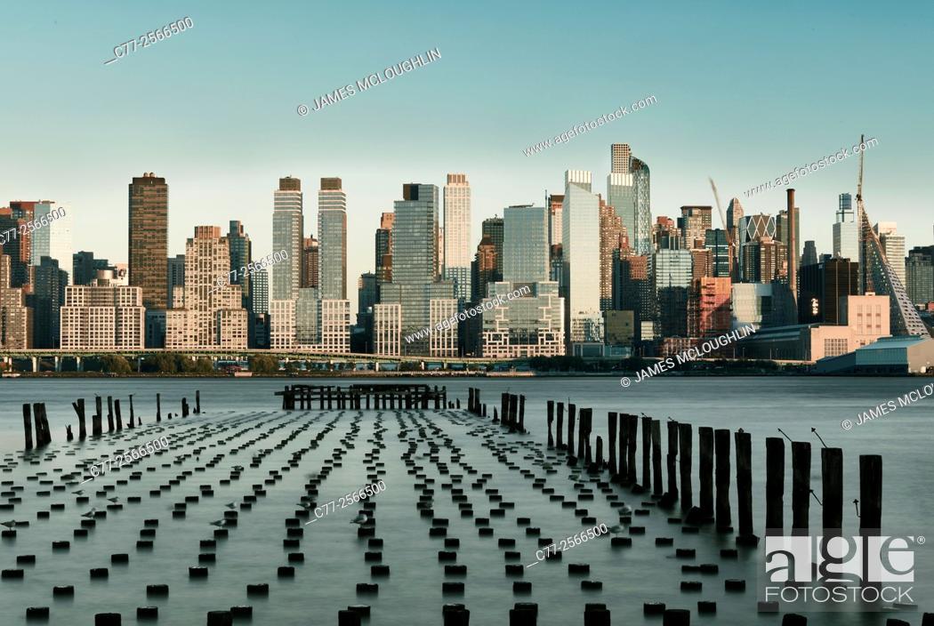 Imagen: New York City, Manhattan, Skyline, West Side.