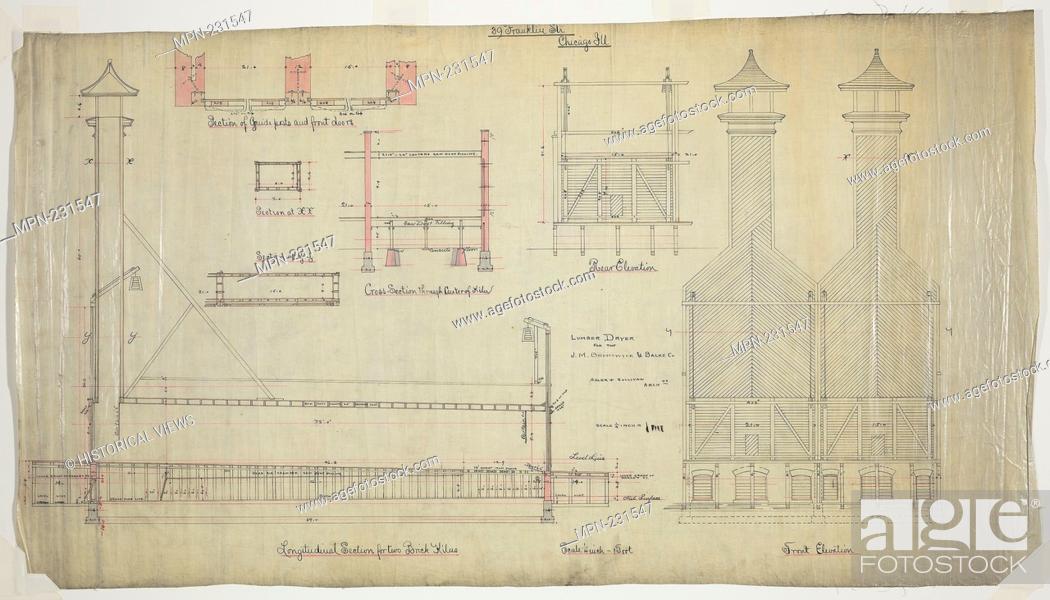 J M  Brunswick and Balke Company Lumber Dryer, Chicago