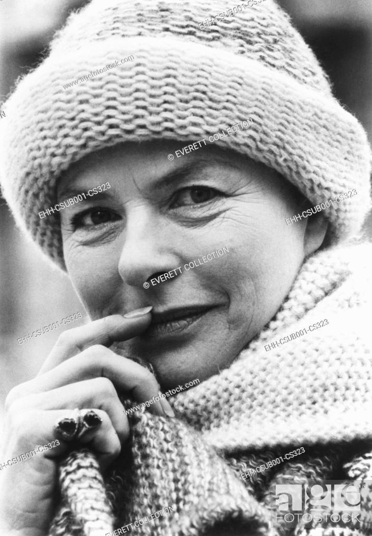 Imagen: Swedish actress, Ingrid Bergman in October 1976. She was in her 43rd film, A MATTER OF TIME, with Liza Minnelli and Charles Boyer. (CSU-2015-7-327).