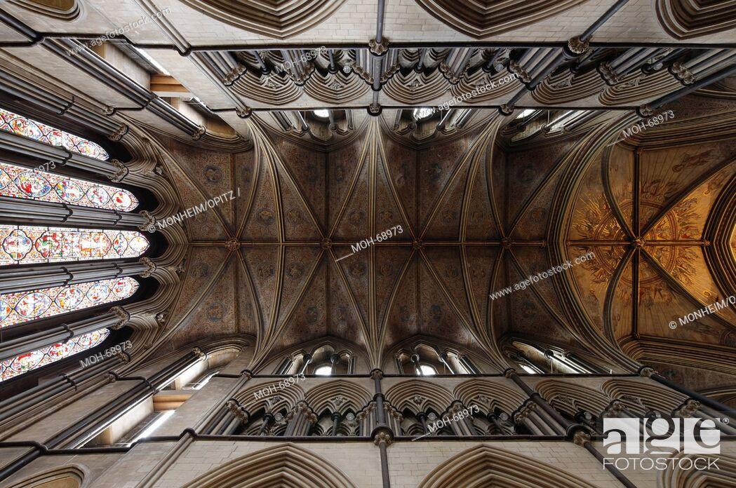 Imagen: Lady Chapel, Blick ins Gewölbe.