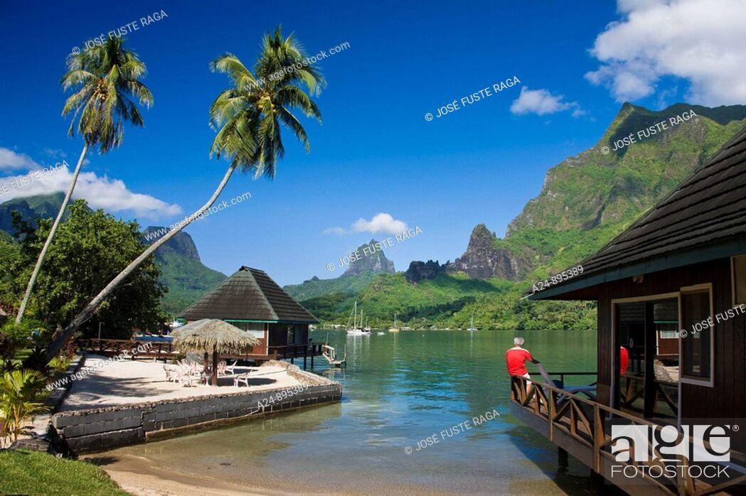 Stock Photo: Cook's Bay, Moorea, Society Islands, French Polynesia (May, 2009).