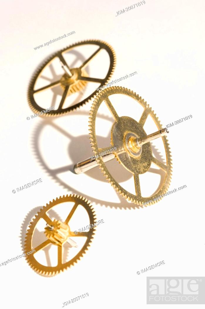 Stock Photo: Gears.
