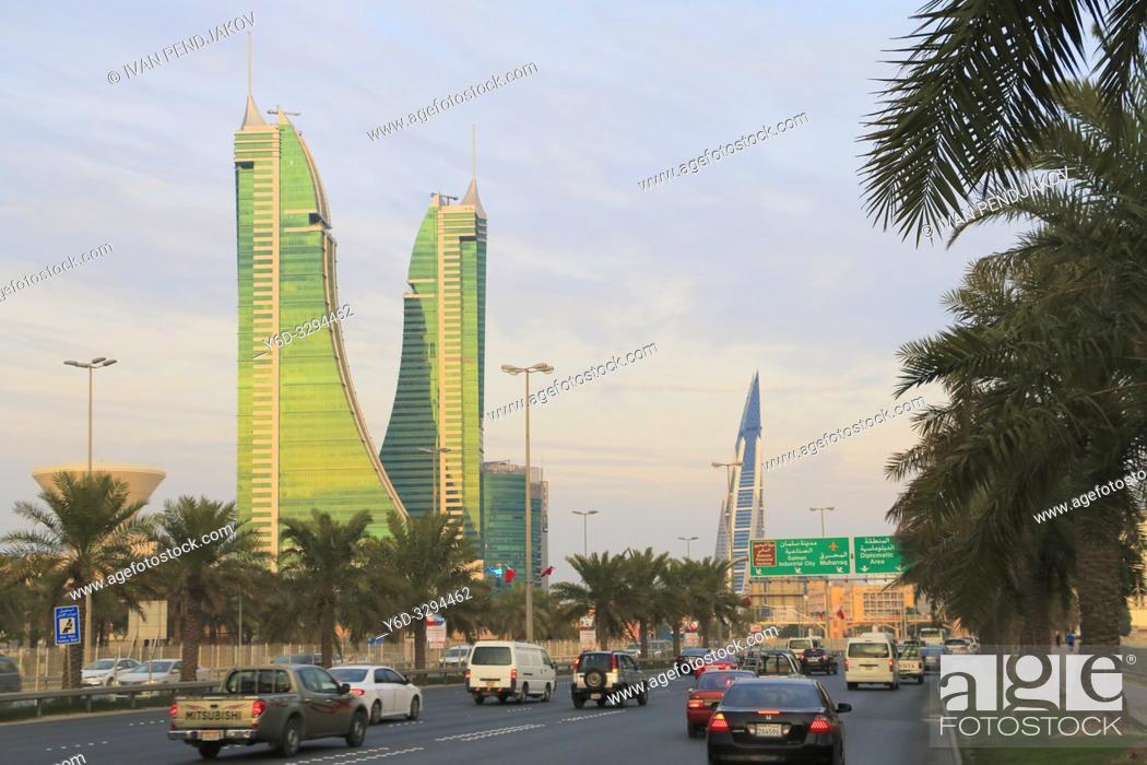 Stock Photo: Manama, Bahrain.