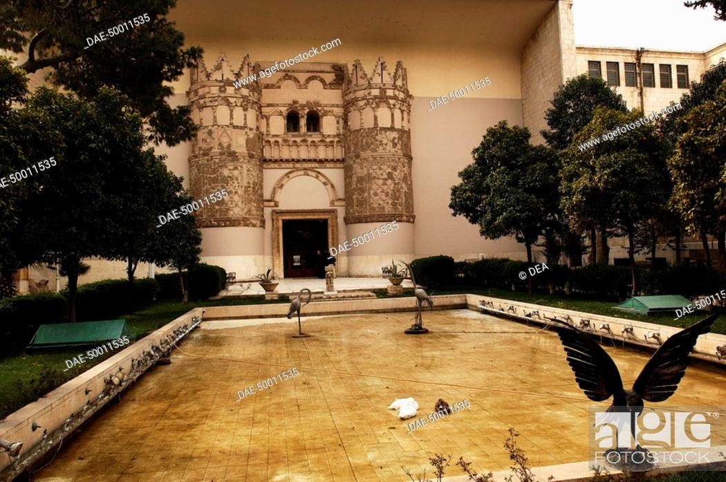 Stock Photo: Syria - Damascus. National Museum.
