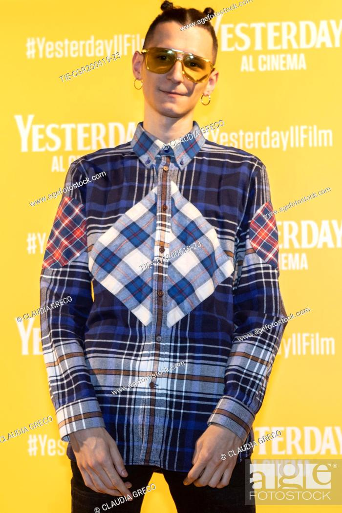 Imagen: G.bit during the photocall of film ' Yesterday ' in Milan, ITALY-20-06-2019.