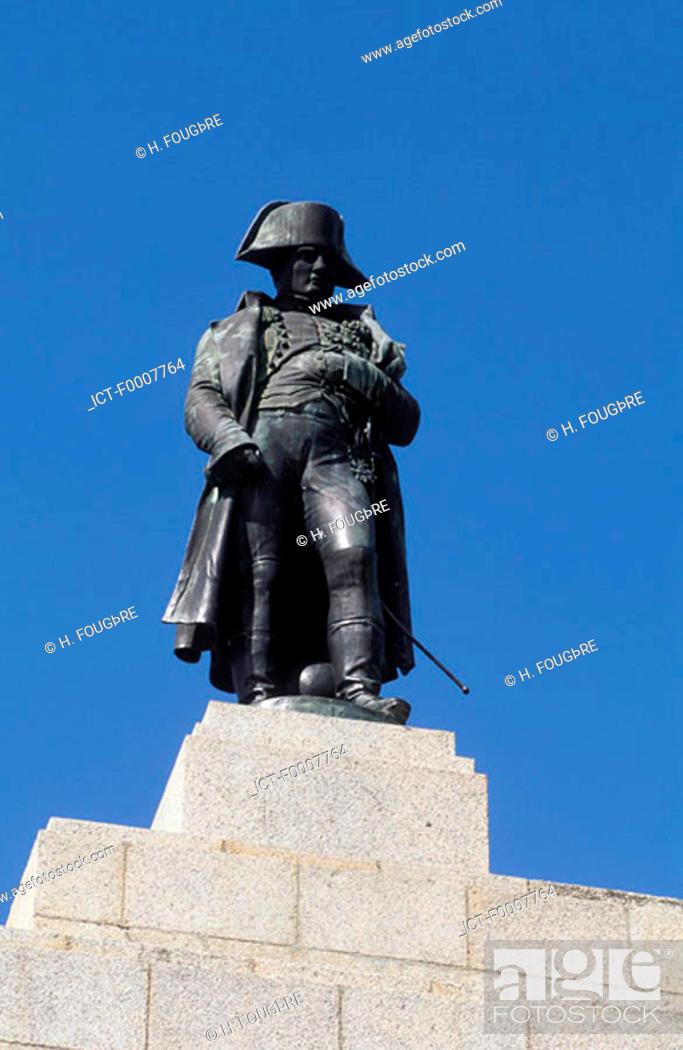 Stock Photo: France, Corsica, Ajaccio, Napoleon memorial.