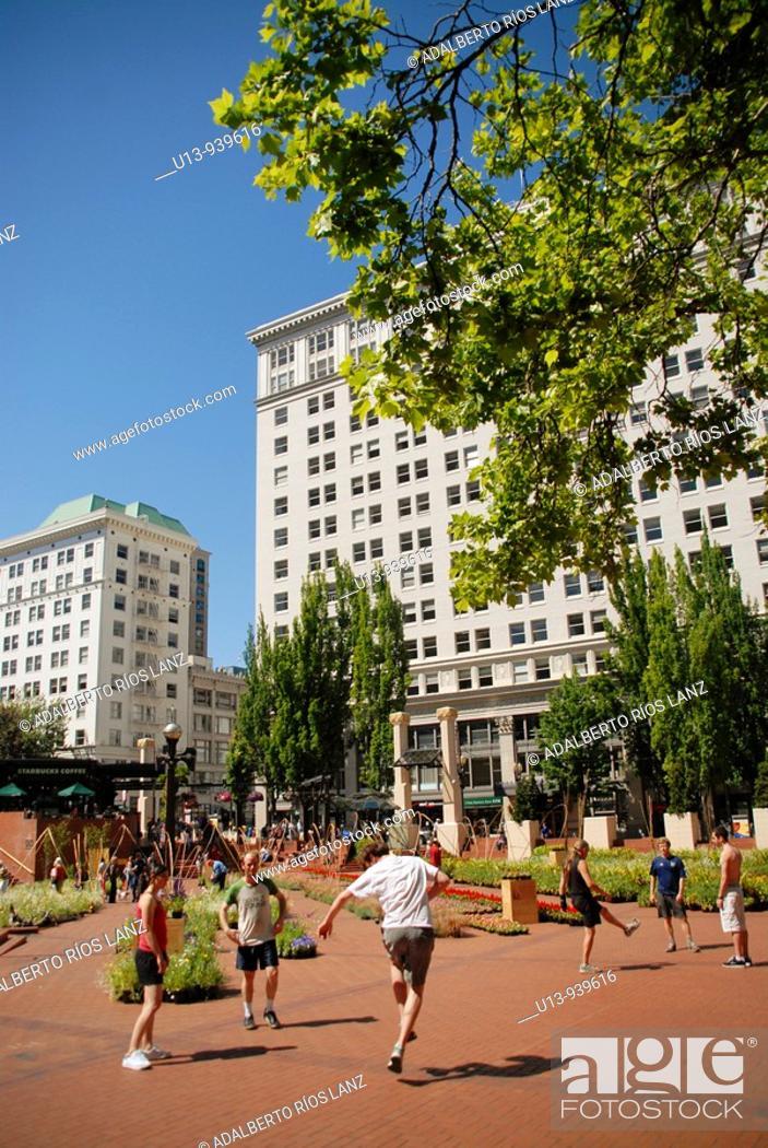 Stock Photo: Portland, Oregon, USA.