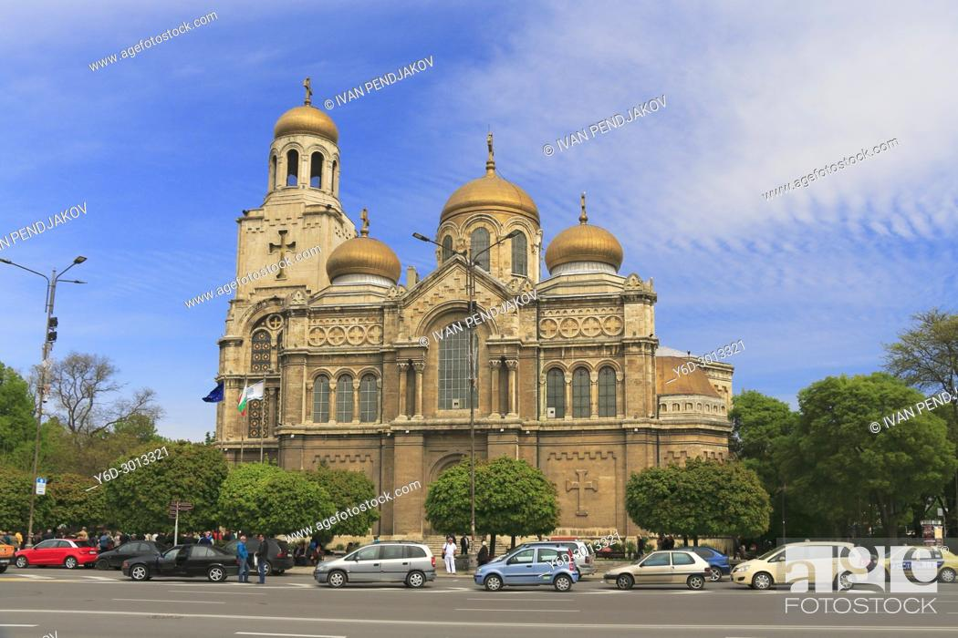 Stock Photo: Varna Cathedral, Bulgaria.