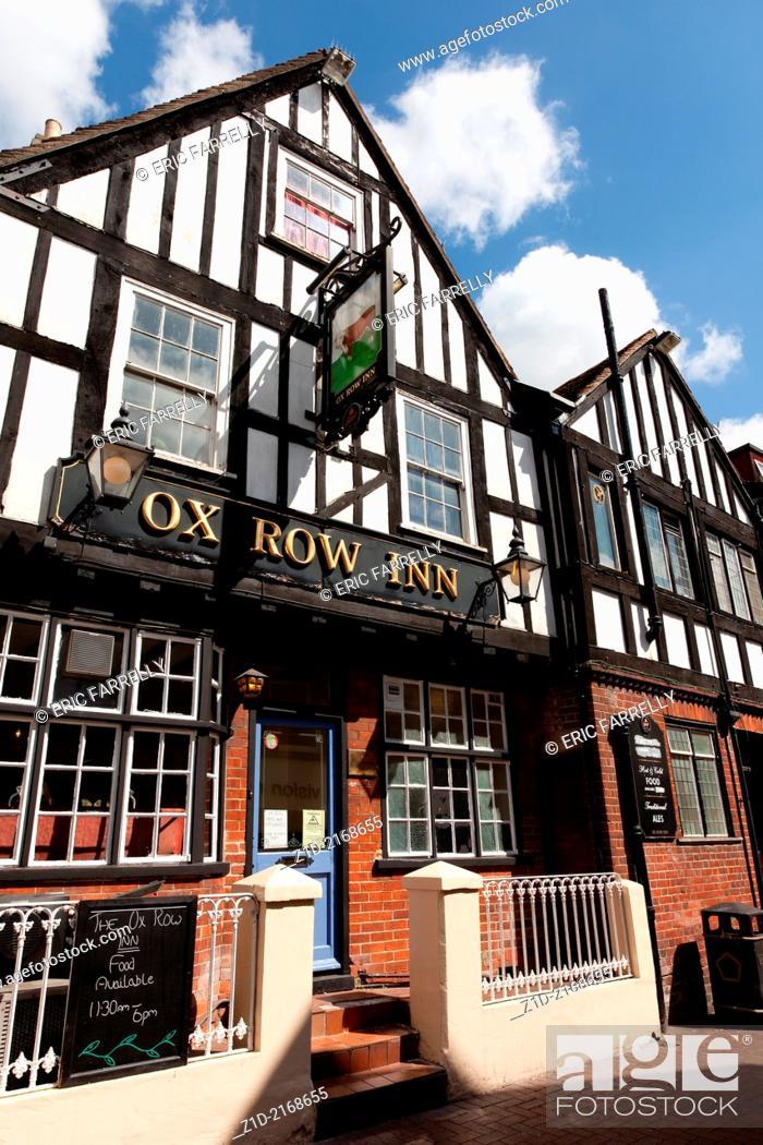 Imagen: Ox Row Inn sitting on Butcher's Row Salisbury.