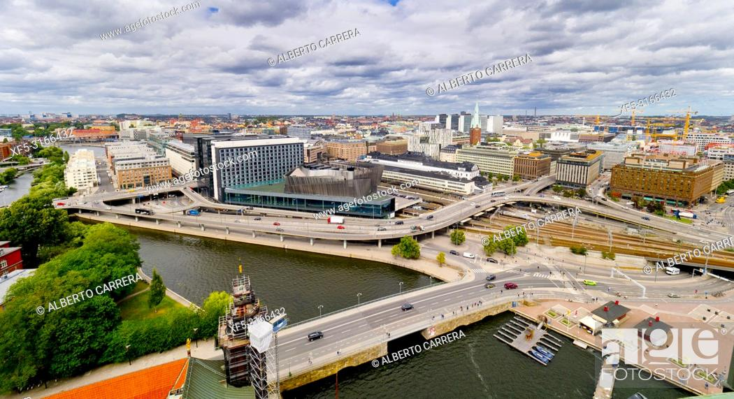 Imagen: Modern City, Stockholm, Sweden, Scandinavia, Europe.