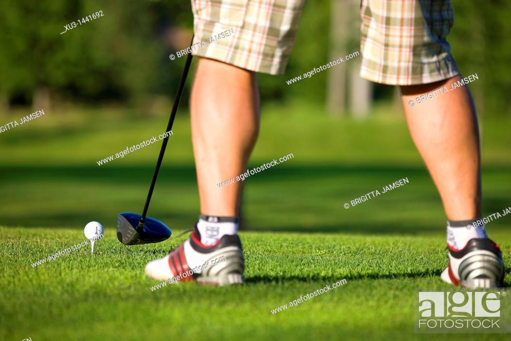 Stock Photo: Golf.