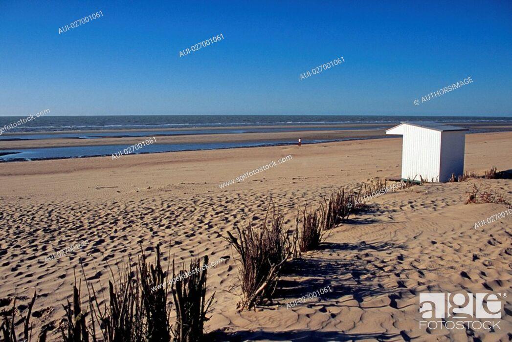 Stock Photo: Belgium - Flanders - De Haan - North Sea.